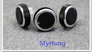 Car Air Conditioning Turning Switch Knob Ac Knob For Ford Focus 2 Focus 3 2005-2014 3pcs Per Set Car Styling