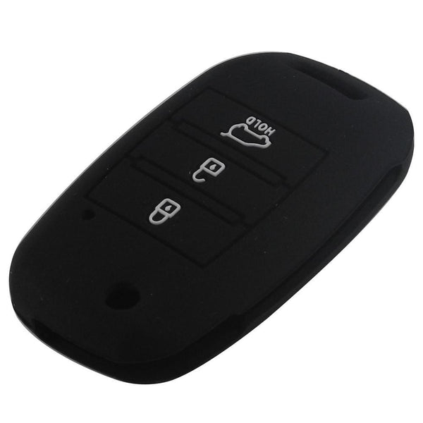 Car Styling Silicone Flip Folding Key Case For Kia Rio Soul Sportage Ceed Sorento Cerato K2 K3 K4 K5 Key Set Jacket Cover Remote