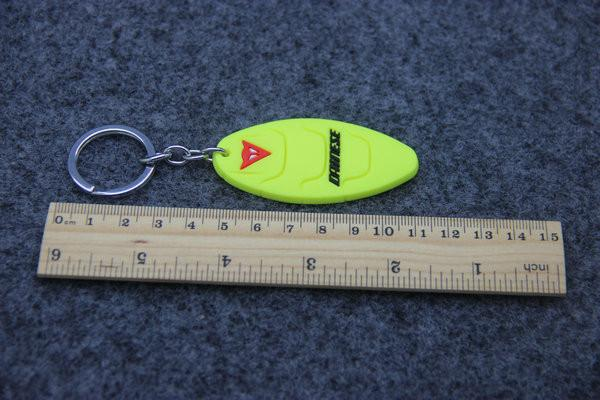 Motorcycles Pvc Rubber Keyring Keychain Key Rings Chains For Dainese