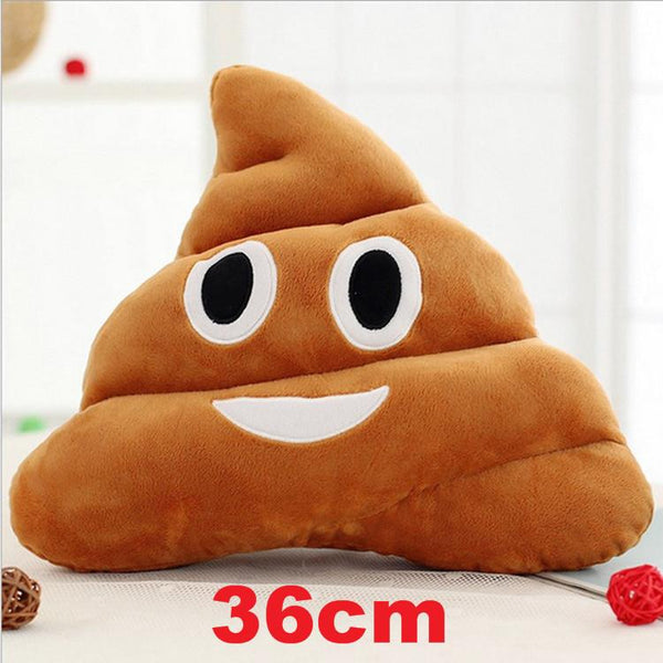 Cushion Emoji Emotion Pillow 36cm Funny Smile Plush Cotton Stuffed Bolster Pillows Cushions Toy Doll Holiday Present 29