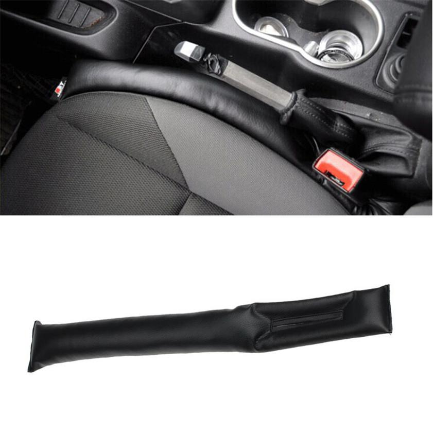 Faux Leather Car Seat Pad Gap Fillers Holster Spacer Filler Padding