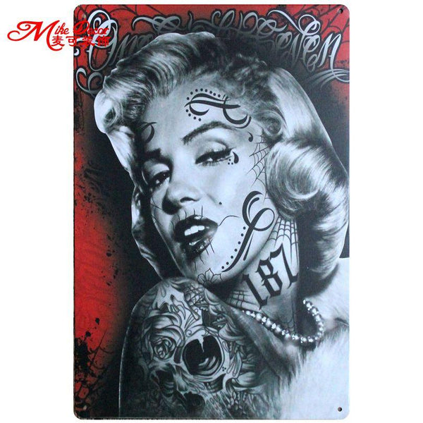 [ Mike86 ] Toilet Rules Retro Metal Signs Decor Home Pub Party Wall Fuanny Painting Decoration 20*30 Cm Aa-774
