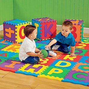 A-Z Alphabet Letters Numeral Foam Mat Play Mat Colorful Puzzle Kid Educational Toy