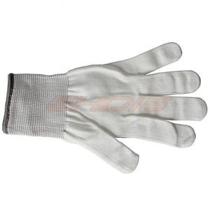 Antislip Professional Use Vinyl Wrap white Gloves CN034