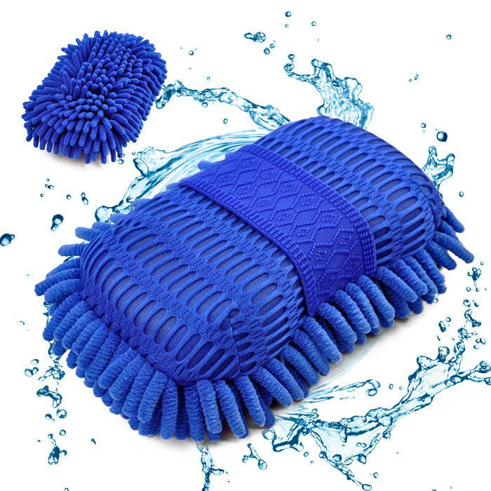Auto Wash Gloves Microfiber Car Washer Cleaning Towel Care Detailing Brushes Washing Exterior Styling Accessories