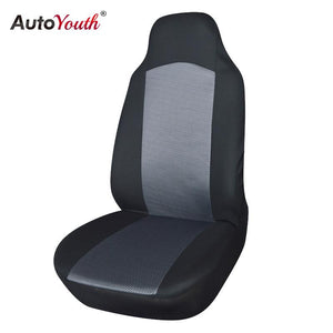 AUTOYOUTHSmall Fish Sandwich Cloth Car Seat Cover 1pc Universal Fits With Non- Detachable Headrest and Detachable Headrest
