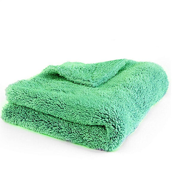 "Plush Microfiber Edgeless Towel 16""X16"" 100% Scratch Perfect For Auto Detailing Washing Interior Cleaning"
