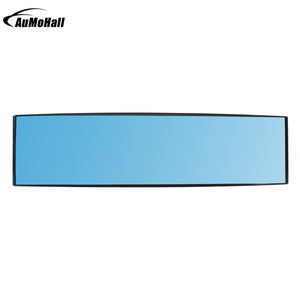 Car Blue Rearview Mirror Auto Reverse Back Parking Reference Rear Dimming Mirrors Wide Angle Interior Mirror