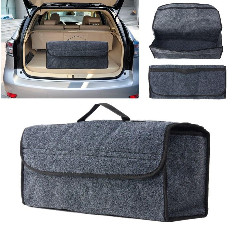 Car Seat Back Rear Travel Storage Organizer Holder Interior Bag Hanger Accessory Gray Stowing Tidying for Car