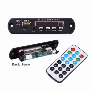EDR Audio Module Support MP3 player WMA Player MP3 decoder with Board Module w TF Card Slot USB FM remote display