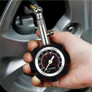 High Accuracy Auto Car Motor Bike Tyre Air Pressure Gauge Precise Tire Pressure Monitoring Up to 100 PSI Vehicle Diagnostic Tool