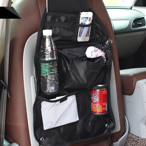 Car Seat Cover Storage Bag Auto Holder Cover Back Seat Glove Snacks Bag Organizer Garbage Trash Pocket Car-styling