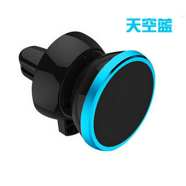 360 Rotating Universal Car Air Vent Mobile Phone Mount Magnetic Stand Holder For iPhone 6 Plus Samsung S7 edge Xiaomi Lenovo