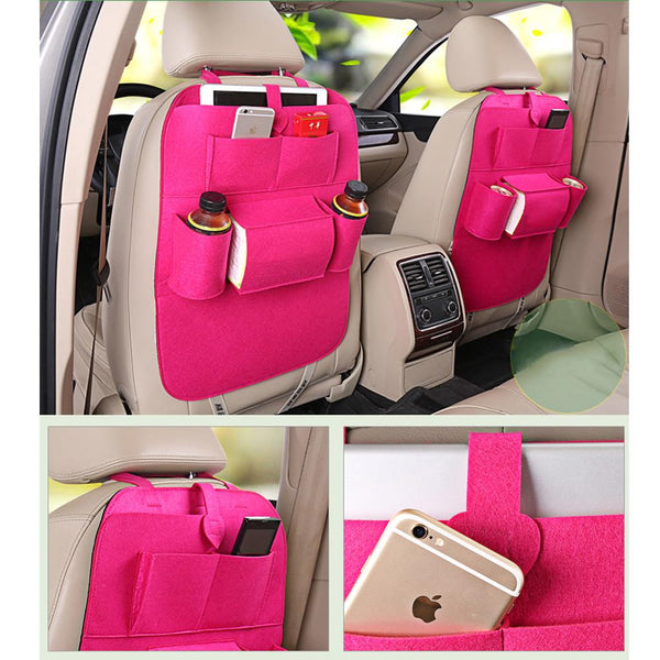 Car Seat back storage receive bags Pocket Car Care Interior Accessories Travel Bag Stowing Tidying Bags car styling
