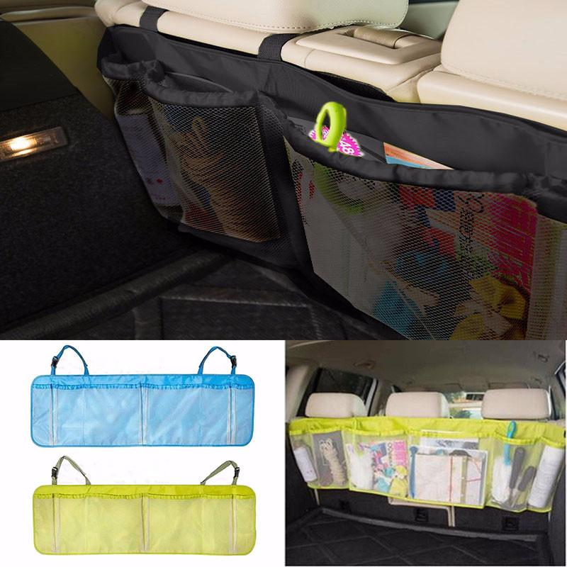 Car Seat Back Tidy Organizer Auto Travel Storage Multi-Pocket Hanging Bag Holder Interior Accessories