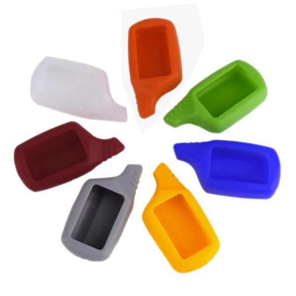 Mini Silicone Case Shell Colorful Cover Case for Auto Alarm Remote Control Car key silicone case