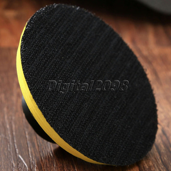 M10 M14 Auto Polisher Bonnet Backing Pad Dia. 80 100 125 150 180mm Angle Grinder Wheel Sander Paper Disc Car Polishing Pad Tool