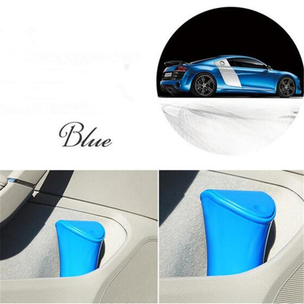 Mini Car Trash bin Rubbish Can Auto Car Office Waste Trash Dustbin Garbage Bin Trash Can Portable Vehicle Dust Bin