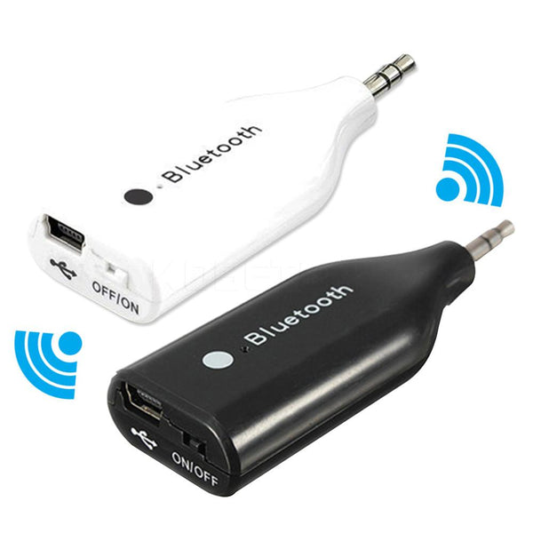 Mini USB Bluetooth Wireless Car Kit AUX Receiver Adapter 3.5mm Audio Music Stereo Receiver