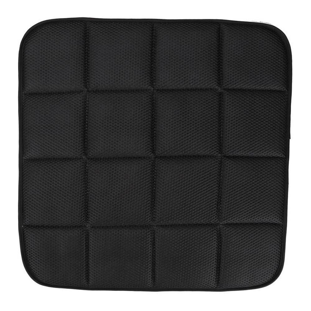 42 x 42 cm Bamboo Charcoal Breathable Car Seat Cushion (Black)