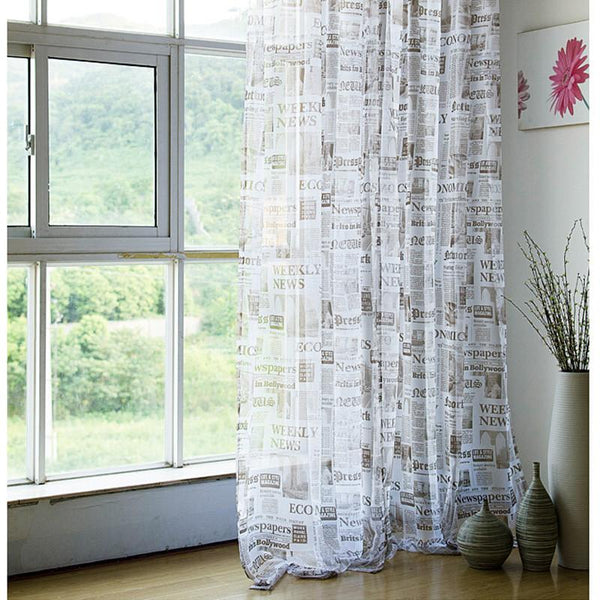 Europe window curtains retro spaper designer bedroom curtain full sun-shading curtains for living room DS064#40