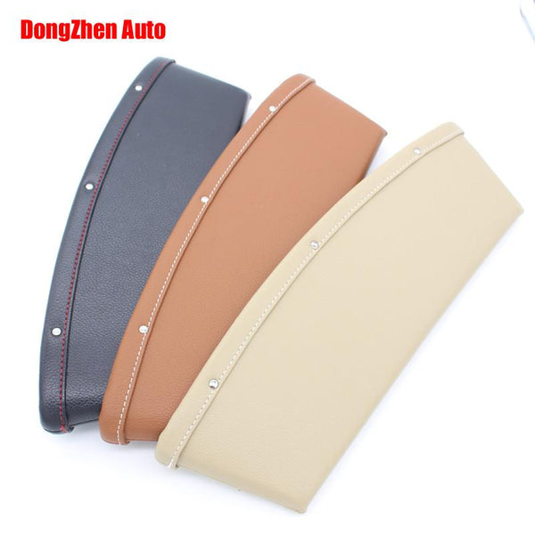 Automobile Leather Car Seat Storage Organizer Slit Pocket Car Pouch For Mitsubishi ASX Lancer ex Outlander Lancer Pajero