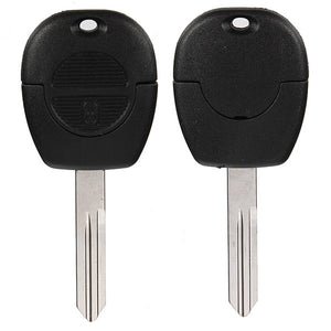 Uncut Remote Key Fob Case Shell 2 Buttons For Nissan Micra Almera Primera