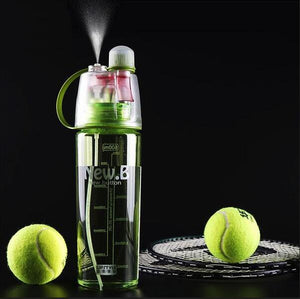.B Sports Spray Water Bottle Beauty BPA Plastic 400ml 600ml Dual-use For Bicycle Tour Trip