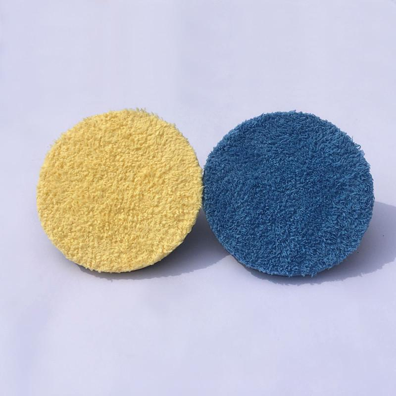 "Remove Moderate Paint Car Care 6"" Microfiber Buff Sponge Polishing Pad For Both Rotary and DA Polishers"