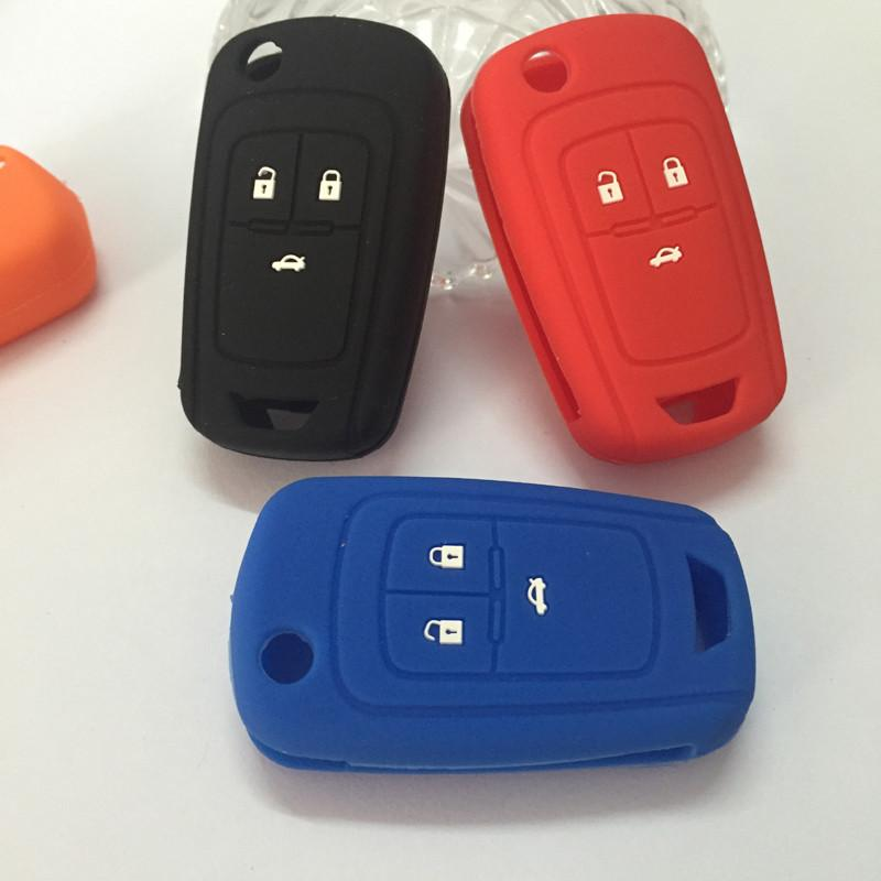 silicone car key case protection covers for Opel Mokka Astra Corsa Antara Meriva Zafira Insignia key case for Opel car styling