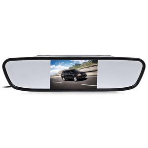 Universal 4.3 Inch Car Rear View Mirror Monitor LCD TFT for Parking Reverse Camera Backup Car Rearview Mirror Monitor