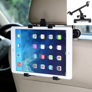 "Universal 7-11"" Soporte Tablet Car Holder For iPad Volvo BMW Audi Benz Chevrolet Hyundai Citroen Toyota Car Headrest Mount Stand"