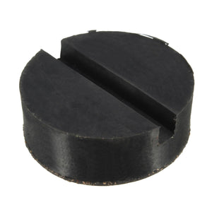 Universal Car Bracket Rubber Pad Trolley Floor Disk Adapter For Pinch Weld Side