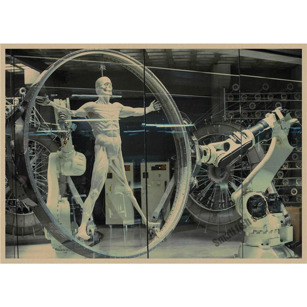 Westworld retro Poster Retro Kraft Paper Bar Cafe Home Decor Painting Wall Sticker