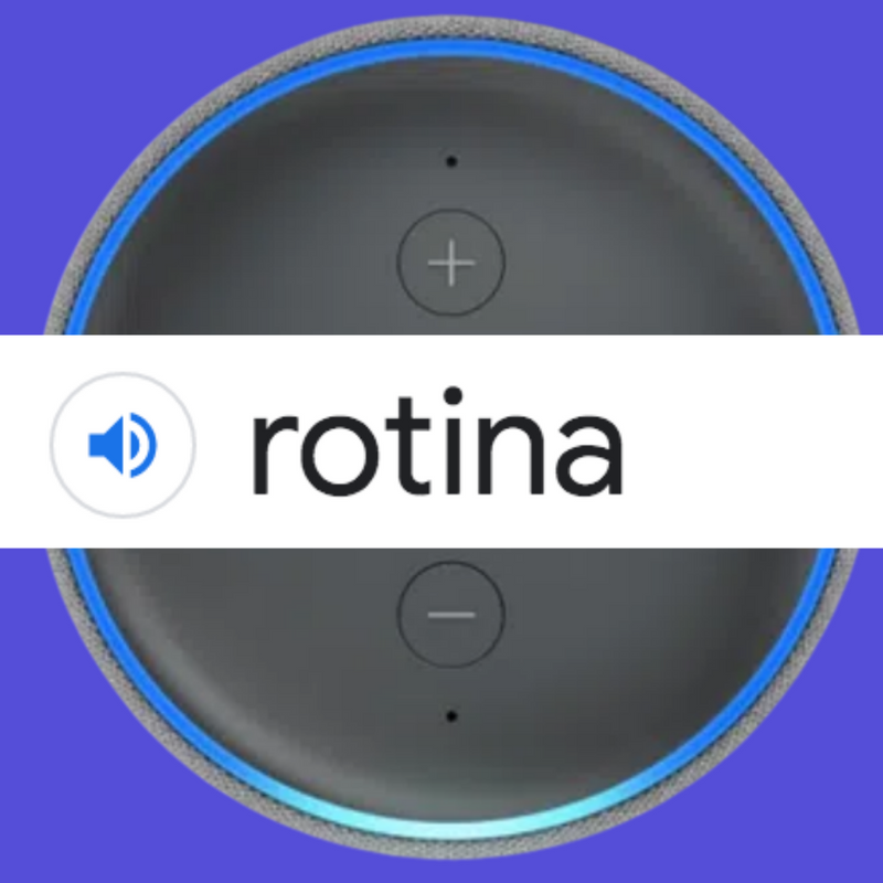 Rotinas na Alexa - Echo Dot da Amazon