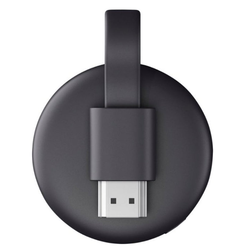 Google Chromecast 3  - dispositivo dongle HDMI - Preto - Ocanova