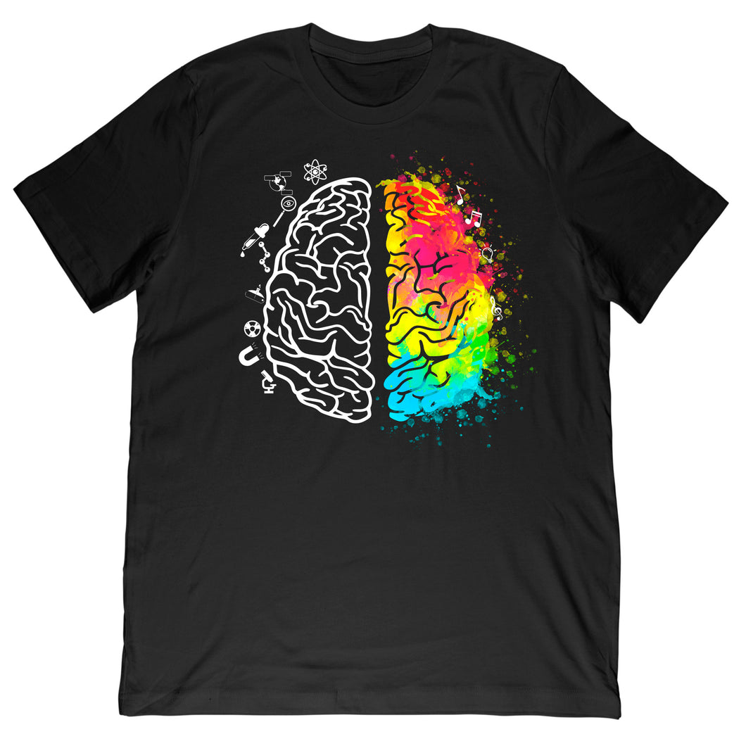 Sides of the Brain Tee