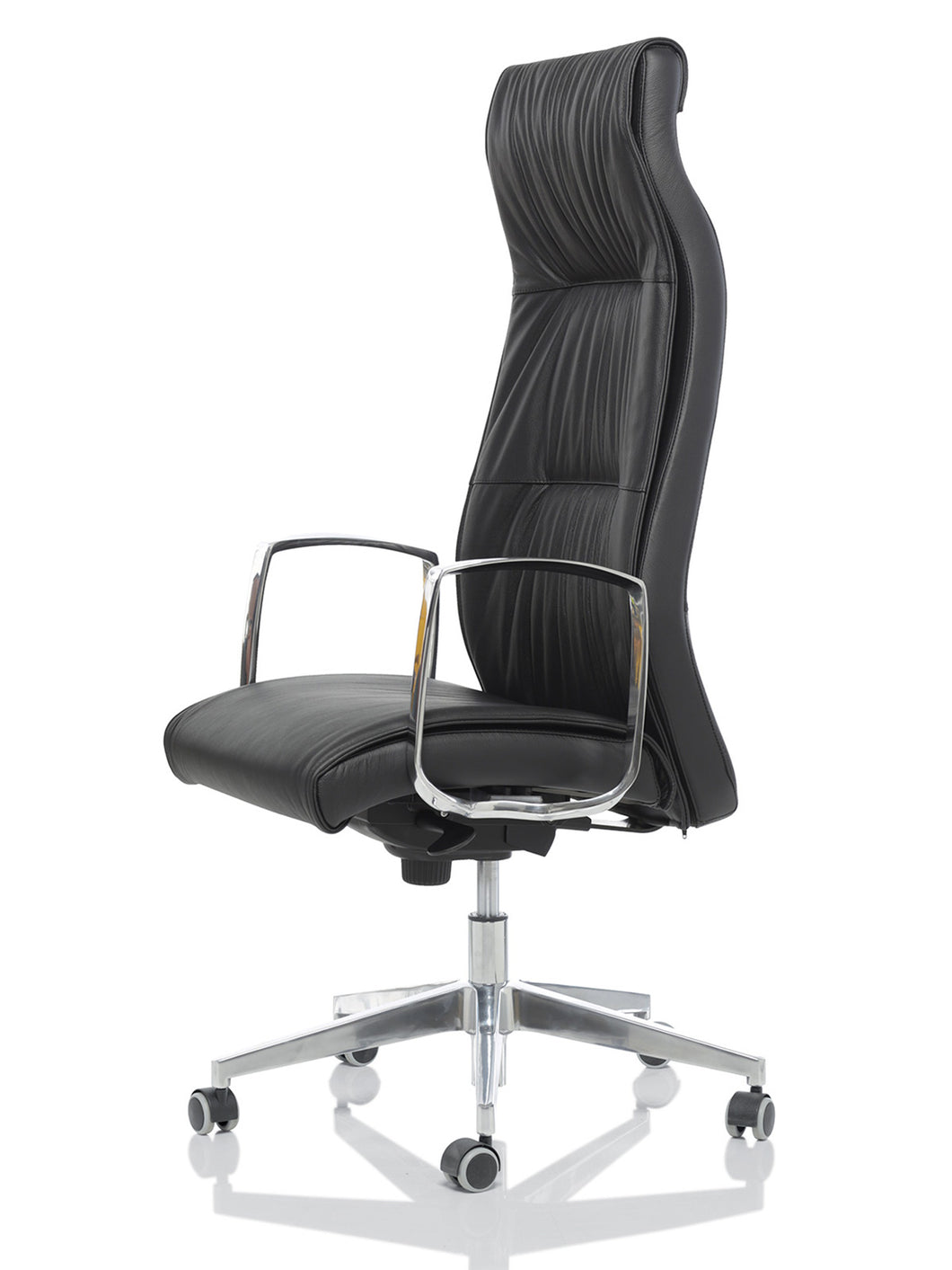 London - Executive High Back Leather Chair.