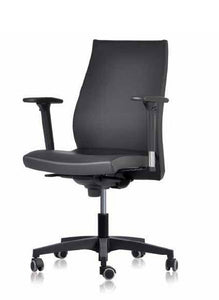 IT 80SY -Executive Leather -Ergonomic. (price includes free pair of 2D Arms & is inclusive of VAT)