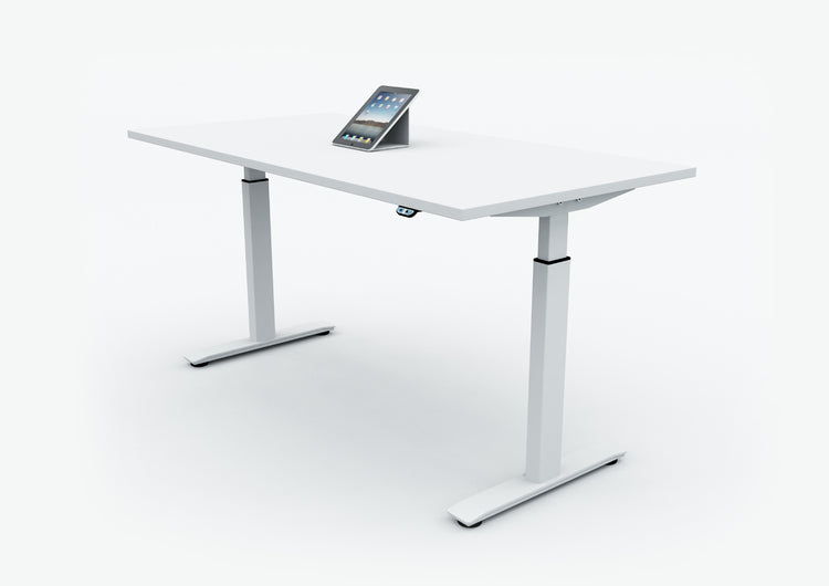 StudioLine Manager's Electronic Sit Stand Desk.