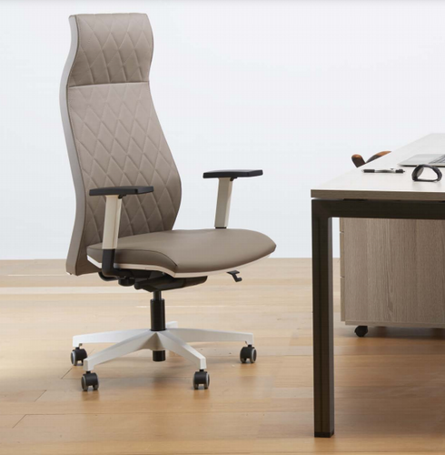 ROMA Executive Chair Leather Synchron