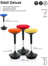 SITALL De Luxe Visitor Stool
