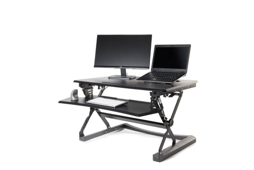 Support Adjustable Sit-Stand Desk Riser.
