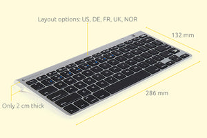 M-board 870 Bluetooth Keyboard.