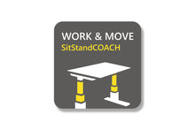 SitStandCOACH software -Free with IQ™ Sit-Stand Desk.