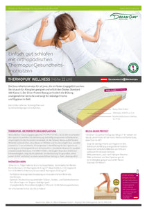 THERMOPUR® WELLNESS (Höhe 22 cm)
