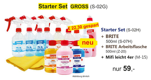 STARTER SET 500ml GROSS (S-02G)