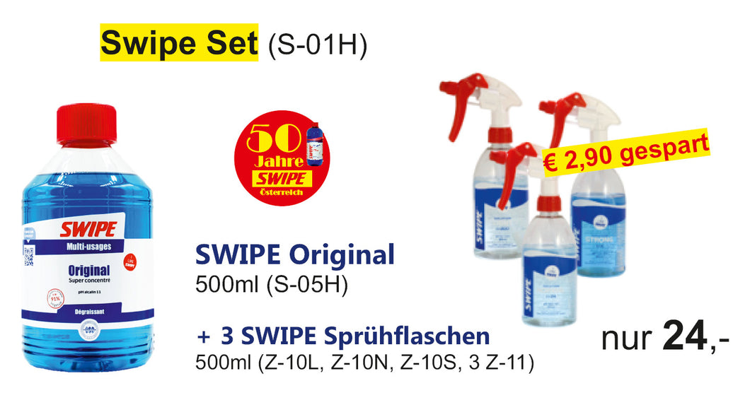 SWIPE Original 500ml SET (S-01H)