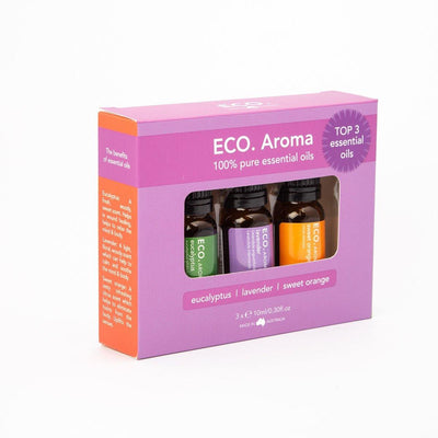 Mini Mist Diffuser & Top 3 Essential Oil Trio Collection