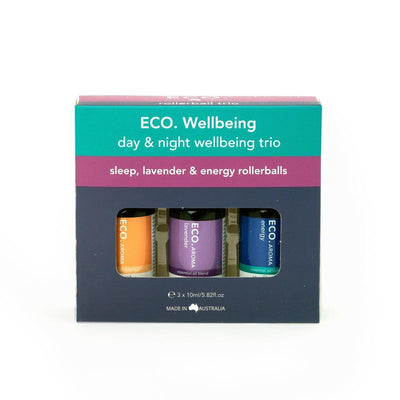 ECO. Day & Night Wellbeing Rollerball Trio